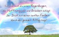 2013-11-10 Nachricht von Dani kurz nach dem Schauspiel Regenbogen