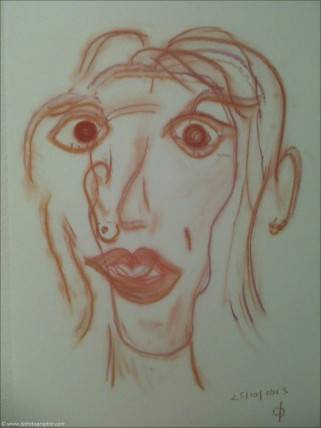 ©Meine ART zu Heilen_Blind Portrait