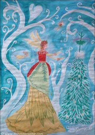©Meine ART zu Heilen_Lilie, die Weihnachtsfee